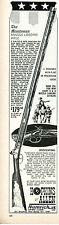 1968 Print Ad of Numrich Arms Hopkins & Allen The Minuteman Muzzle Loading Rifle