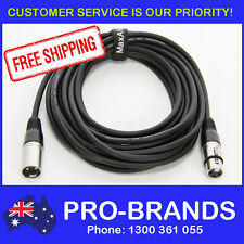 7 Metre XLR Pro QUALITY Male to Female M-F Microphone Mic Cable Lead Cord PA 7M