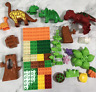 2020 Jurassic World dinosaur park lab Building Bricks Blocks toys  for Children