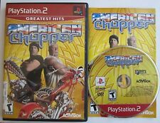 American Chopper Motorcycles (Sony PlayStation 2, 2004) Complete! SHIPS FAST