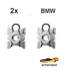 2x Ascensor Cierres Deslizantes ELEVALUNAS Para BMW E32/34/36 Sujetador Clips