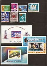 LIBERIA ( SPACE)- Unlisted imperf sets- six different