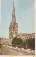 Bristol Postcard - St Mary Redcliffe   A6143