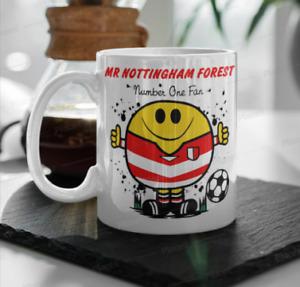Mr Nottingham Forest FC Football Coffee Mug Cup Gift Birthday Christmas Him Man