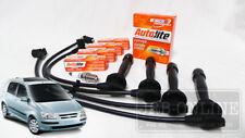 Hyundai Getz TB G4EE G4EC G4ED 02~11 Spark Plugs & Ignition Leads SERVICE KIT