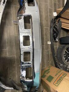 Front Steel Bumper Face Bar for 2014 2015 Chevy Silverado 1500