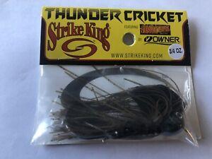 Strike King Thunder Cricket Green Pumpkin 3/4 oz.