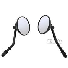 Rearview Side Mirrors For Harley Cross Bones Dyna Fatboy Electra Glide Iron 883