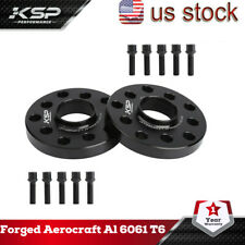 KSP 2x20mm Wheel Spacers 5x100 5x112 | + 10 Lug Bolts | Fits Audi & Volkswagen