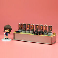 Divergence Meter Stein'S Gate. Include 8pcs NIB NL5441A Nixie Tube Clock Limited