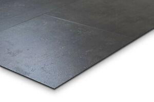 Klick Vinyl Boden Beton schwarz 90x45 solidLOCK Nuance Chacoal MF55719 abm²/25€