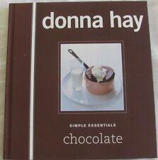 Simple Essentials: Chocolate by Donna Hay (Hardback, 2007)