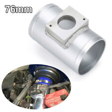 Air Flow Sensor Mount Air Intake Adapter Tube 76mm 3' Fit for Mitsubishi