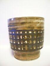David SHARP (1936-1993) Studio Pottery Rye PLANTER  1970s Signed