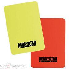 DERBYSTAR Schiedsrichter-Karten Set Referee Cards Karten Pack [4026000000]