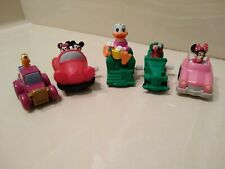 DISNEY WINDUP TOYS 1993 BURGER KING LOT OF 9 ALL WORK LITE WEAR HIGHLY COLLECTBL
