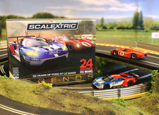 SCALEXTRIC Slot Car C3893A 50 Years of Ford at Le Mans  - Limited Edtion