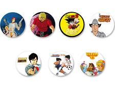 Lot Pack Badge Button Ø25mm Dessin animé Manga Culte 80 90 Enfance
