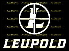 Leupold Optics - Scopes - Hunting/Shooting - Vinyl Die-Cut Peel N' Stick Decal