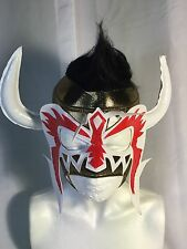 PSICOSIS GOLD!! WRESTLING LUCHADOR MASK!! COOL DESIGN! GREAT HANDMADE MASK!!