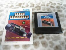 POLE POSITION Atari 5200 video racing game 1983 Namco cartridge only used