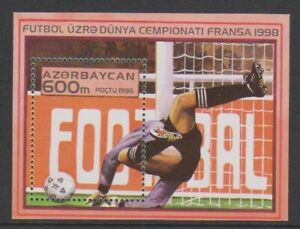 Azerbaïdjan - 1995, Coupe Du Monde de Football, France Feuille - MNH - MS272