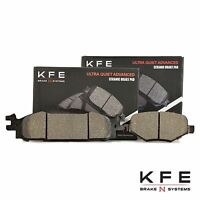 REAR Premium Ceramic Disc Brake Pads Fits Ford Edge Explorer Flex Taurus KFE1377
