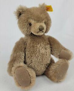 1980 Steiff Caramel Original Teddy Bear, #0202/26,  w/ Tag Articulated Joints