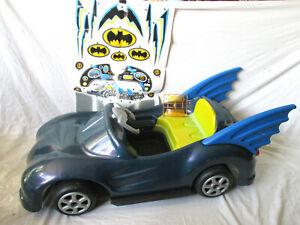 Batman Batmobile Kids Ride-On Car Electric 6V Famosa Fwd & Reverse