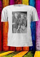 Jane Birkin Serge Gainsbourg Slogan Premiere No Bra Men Women Unisex T-shirt 951