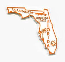 Florida The Sunshine State Fridge Magnet