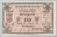 Notgeld - Schlesien - Kreisstadt Guhrau (heute Góra in Polen) -10 Pf.  - 1920
