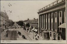 Russia-ukraine 1906 pc postcard Odessa-Moscow rishelewskaja street City view