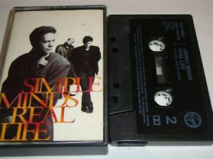 Simple Minds - Real Life - Cassette Tape
