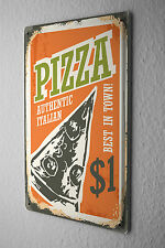 Tin Sign Retro Pizza