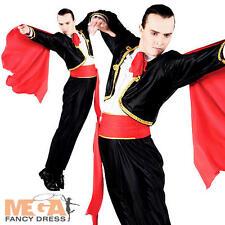 Spagnolo Matador Mens FANCY DRESS corride RODEO Adulti Costume Vestito Nuovo