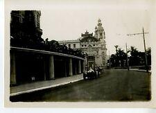 PHOTO ORIGINAL VINTAGE-G.P. AUTOMOBILE DE MONACO 1932-MASERATI 8C28 N°34 DREYFUS