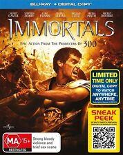Immortals (Blu-ray, 2012)