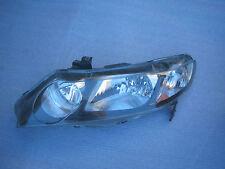 Honda Civic Sedan Hybrid Headlight Head Lamp 2008 2009 OEM Original Driver Side