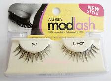NIB~ Andrea Modlash #80 False Eyelashes Fake Lashes Eyelash Lash Black Falsies