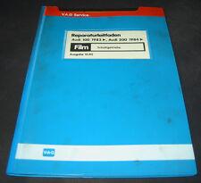 Microfich Audi 100 200 Typ 44 C3 Schaltgetriebe Getriebe Stand Oktober 1982
