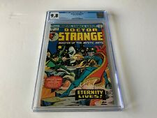 DOCTOR STRANGE 10 CGC 9.8 WHITE PAGES ETERNITY BARON MORDO MARVEL COMICS 1975