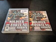 PS3 - SOLDIER OF FORTUNE PAYBACK
