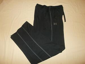 UNDER ARMOUR COLD GEAR BLACK ATHLETIC PANTS MENS XL EXCELLENT CONDITION