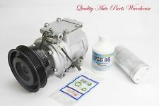 Reman. A/C Compressor  Kit for 1998-2000 Toyota RAV4  4CYL W/ 1 year Warranty