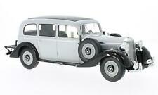 BOS117 - Mercedes 260D Pullman, hellgrau/schwarz, 1937 - BoS 1:18