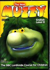 THE NEW MUZZY BBC- KIDS LANGUAGE COURSE LEVEL II 2 LEARN TO SPEAK ENGLISH 3-DVD