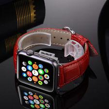Genuine Leather Buckle Wrist Watch Strap Band Belt for Apple Watch2 iWatch 42mm
