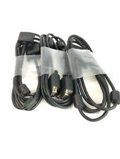 Lot of 3 Video Cable VGA Cable 6' HD 15-pin Male-Male Monitor Cable Dell TF308