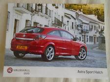 Vauxhall Astra Sport Hatch press photo